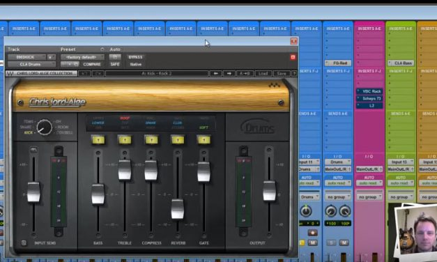 Dialing in a Mix with the Chris Lord Alge Signature Series Plugins
