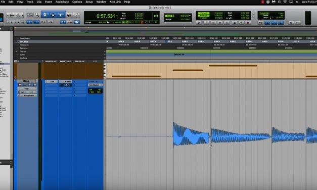 Tightening Up Your Mix – Using Elastic Audio, Snap Clip to Cursor, Lining to Grid