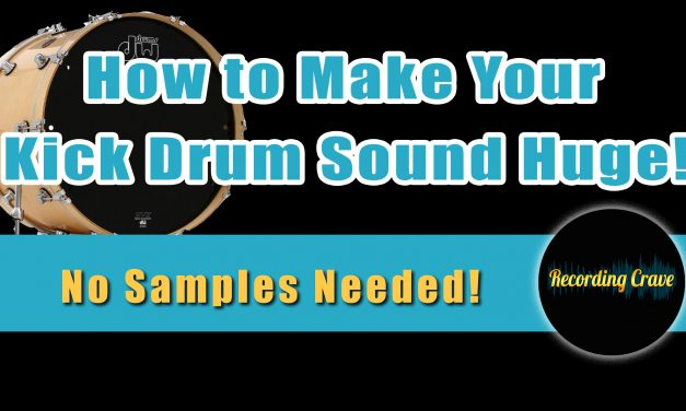 How To Make Your Kick Drum Sound Huge – Super Easy Sub Mic Trick Without the Sub Mic